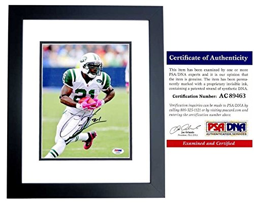- Ladainian Tomlinson Autographed Signed New York Jets 8x10 Photo Black Custom Frame - 2017 Hall of Fame - PSA/DNA Authentic