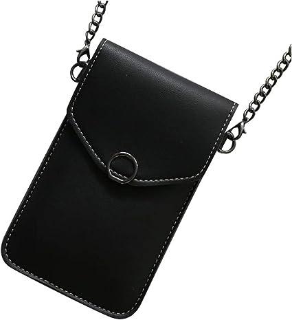 Touchable Screen Change Bag Women Crossbody PU Shoulder Bag Purse Mobile Phone..