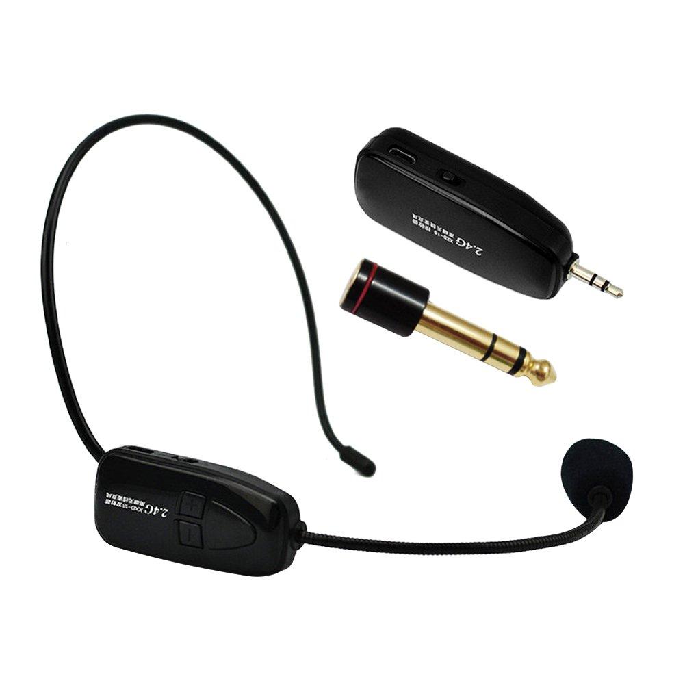 WinnerEco 2.4G Wireless Microphone Speech Headset Megaphone Radio Mic for Speaker, Teacher, Tour Guide 4330938503