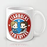 Starbucks - Steve Rogers and Bucky Barnes Iced Coffee Mug Unique?Coffee?Mug?Gift Ceramic Material Personalized Mug-SO100480595