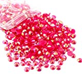 500pcs/lot 5mm AB Jelly Resin Rhinestones Flatback Round Rhinestones Gems (Color 14)