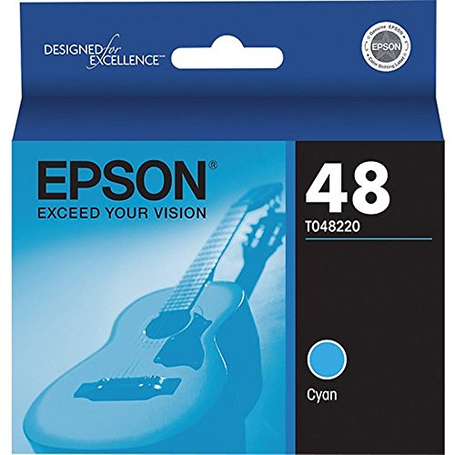 Epson T0482 Cyan Ink Cartridge - Inkjet - 430 Page - Cyan - 1