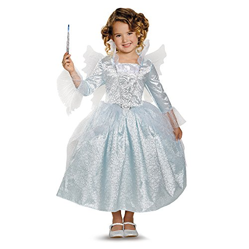Disguise Fairy Godmother Movie Deluxe Costume, Small (4-6x) (Halloween Costume Disney Princess)