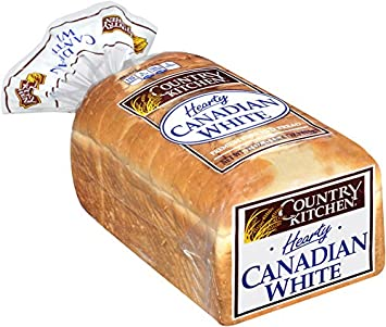 Country Kitchen Hearty Canadian White Bread Bag 22 Oz