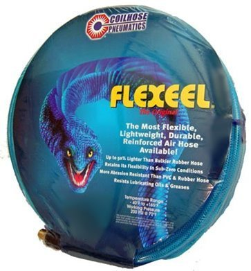 Coilhose Pneumaticss PFE40504T 1//4 x 50 Flex eel Reinforced Polyurethane Straight Assembled Hose