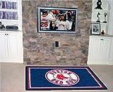 "Fan Mats Boston Red Sox Rug, 46"" x 72"""