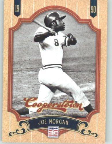 2012 Panini Cooperstown Baseball Card #145 Joe Morgan - Cincinnati Reds (Legend / Hall of Fame / HOF) MLB Trading Cards