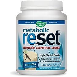 Nature's Way Metabolic Reset, Vanilla, 1.4 Pound (630g)