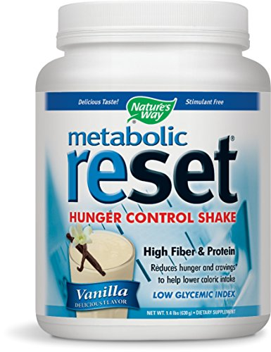 Nature's Way Metabolic Reset, Vanilla, 1.4 Pound (Metabolic Shake)