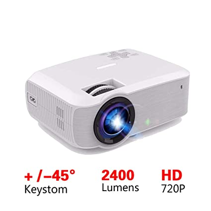 Mini Proyector Led 2400 Lúmenes 1280X720 Video Beamer Hdmi Vga USB ...