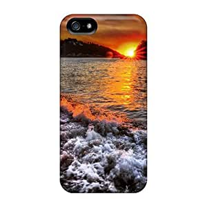 Tpu Fashionable Design Dream Summer 2012 Sunset 41 Rugged Case Cover For Iphone 5/5s New