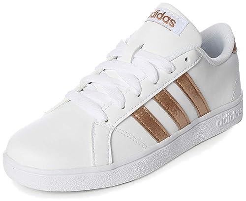 muy barato ofertas exclusivas mejor amado Adidas Tenis Baseline AQ0783 para Mujer, Color Blanco, Talla 23.5 ...