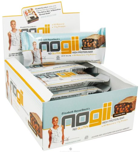 NoGii High Protein Bar Chocolate Mint - 12 Bars