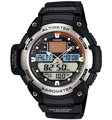 Casio SGW400H-1BV Twin Sensor Altimeter Barometer Thermometer Watch