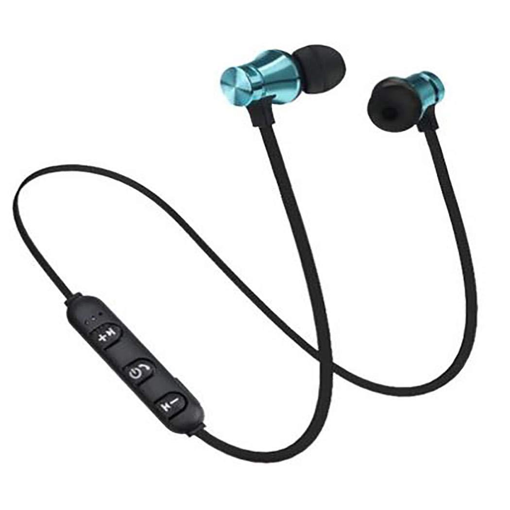 gikeba Auriculares inal/ámbricos Bluetooth Auriculares est/éreo Impermeables para m/úsica con micr/ófono Auriculares y Cargadores suplementarios