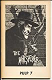 Pulp #7 1974-The Whisperer-Many faces of Lin San