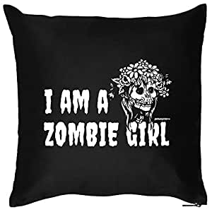 Halloween decoración Cojín::: Zombie Girl::: Un Cómodo para Halloween