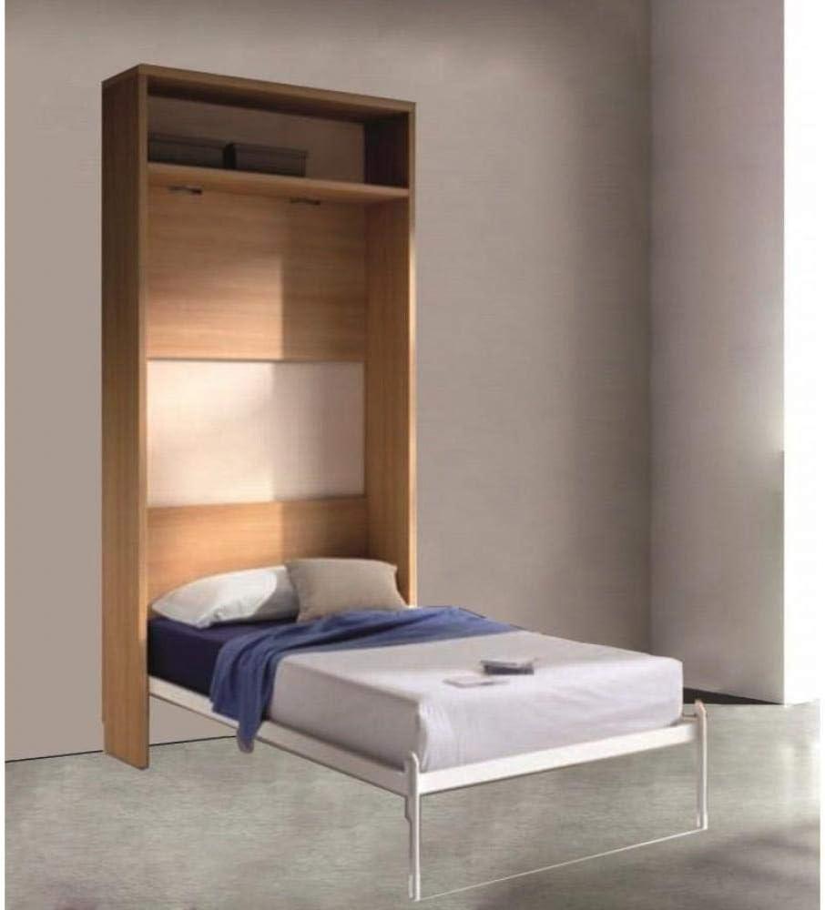 Inside Atlas - Armario cama plegable, color cerezo, con cama ...