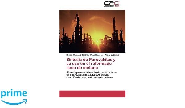 Síntesis de Perovskitas y su uso en el reformado seco de metano: Síntesis y caracterización de catalizadores tipo perovskita de La, Ni y Al para la ... de ...