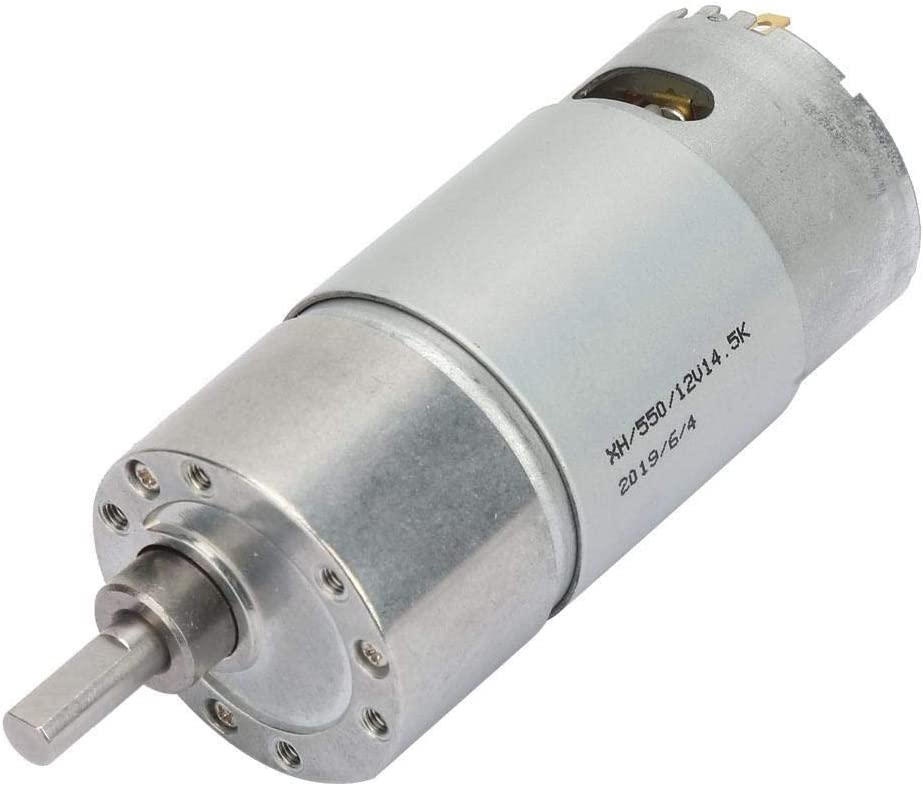 Beennex Full Copper Coil Speed Reduction Large Torsion Wattage Reduction DC Gear Motor 6.3 1150RPM