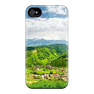 Iphone 6 UYe7230IcHO Mountain Village Beautiful Summer Cases Covers. Fits Iphone 6
