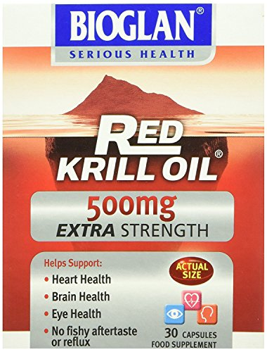 (12 PACK) - Bioglan Red Krill Oil 500Mg Extra Strength | 30s | 12 PACK - SUPER SAVER - SAVE MONEY by PharmaCare Europe Ltd