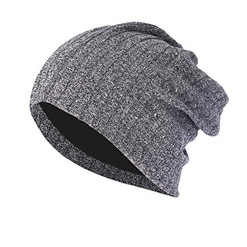 (Baggy Warm Caps Hat for Men Women, Sttech1 Crochet Winter Wool Knit Ski Beanie Skull Slouchy Hat)