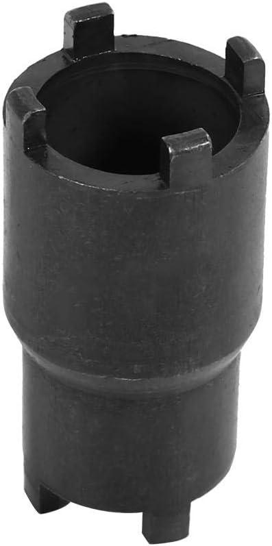 Llave de tuerca de bloqueo 2 en 1 20 mm herramienta de extracci/ón de llave de tuerca de bloqueo de embrague 24 mm