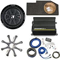 Kicker Dodge Ram Quad/Crew 02-15 - 10 CompRT in box w/ grille, CX600.1 amplifier & Wiring Kit