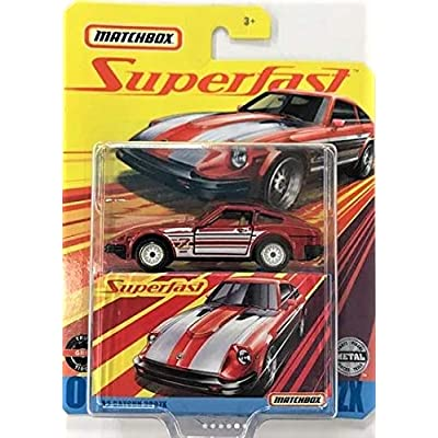 Matchbox Superfast #01 Red Datsun 280ZX Die Cast Collector Car: Toys & Games