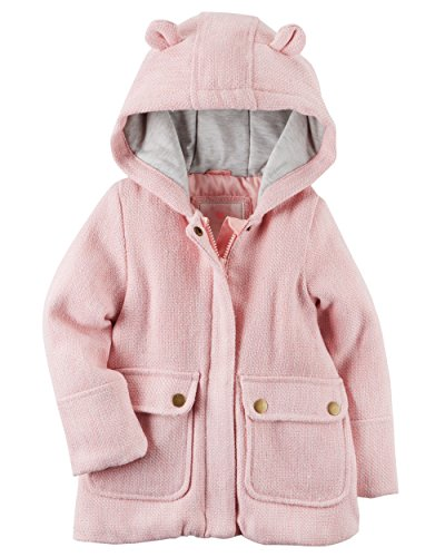 Carters Baby Girl Peacoat (4T, Pink)