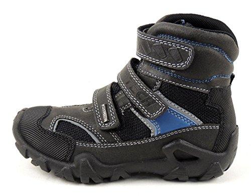IMAC Jungen Boots IMAC-TEX Nylon mit Synthetik FEDERLEICHT Klett 93582