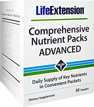 Amazon.com: Life Extension Comprehensive Nutrient Packs ...