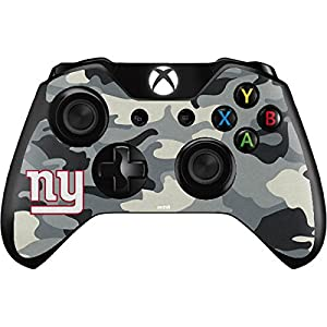 NFL New York Giants Xbox One Controller Skin - New York Giants Camo Vinyl Decal Skin For Your Xbox One Controller