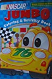 Nascar Jumbo Coloring & Activity Book (Race Track on Back!)