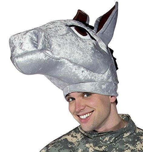 Army Mascot Costume (Military Mascot Adult Army Mule Hat Democrat Donkey Hat)