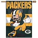 """Wincraft NFL Green Bay Packers Mickey Mouse 28"""" X"""