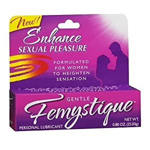Femystique Personal Lubricant for Her 0.88 Oz Enhance Sexual Pleasure Lubricante Femenino