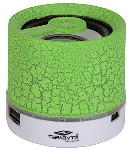 Terabyte Wireless Portable Bluetooth Speaker  Green