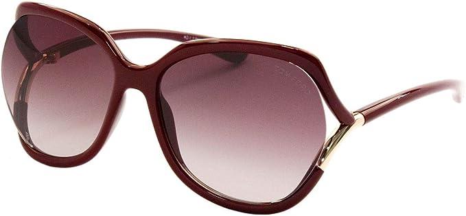 Tom Ford Sunglasses 0578 Anouk 52F Dark Havana Brown Gradient