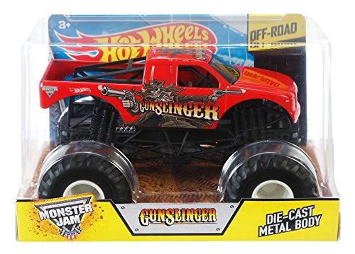 Hot Wheels Monster Jam 1:24 Scale Gunslinger Vehicle
