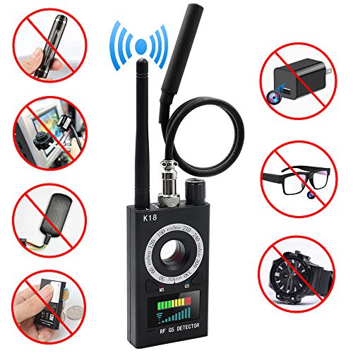 Anti Spy Detector EOVAS Camera Finder RF Signal Detector GPS Bug Detector Hidden Camera Detector Radar Radio Scanner Frequency Detector for GSM Tracking Device - 2019 Newest Version