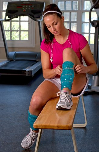 TheraPearl Shin Wraps Reusable Hot Cold Therapy, Two Pack, (Pack of 24) by THERA°PEARL (Image #2)