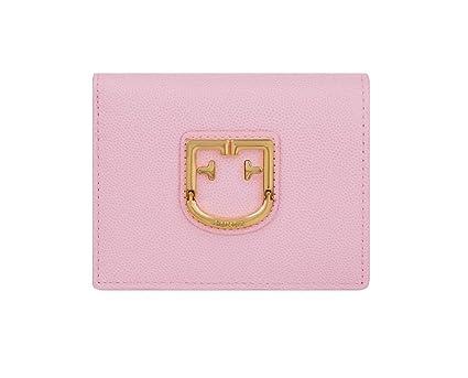 FURLA - Cartera para Mujer Rosa Rosa 11.5 x 9 x 3 cm: Amazon ...
