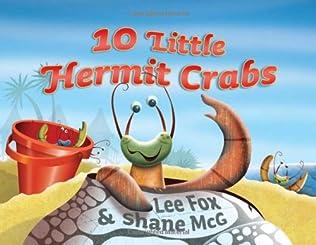 book cover of Ten Little Hermit Crabs