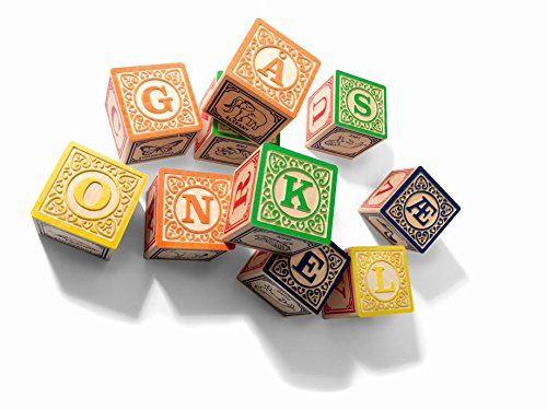 Uncle Goose Danish ABC Blocks - Made in USA ()