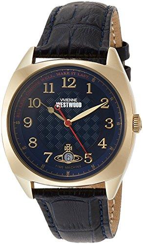 Vivienne Westwood watch HAMPSTEAD blue dial blue leather Quartz VV175BLBL Men's parallel import goods]