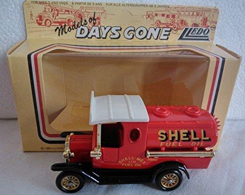 Days Gone Lledo Vintage Die Cast 1920 Model T Ford Tanker Shell Fuel Oil Die-Cast Replica