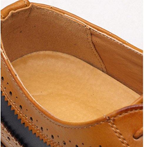 43 Zapatos cordón 356cm elegante del negocio del del del 003cm casan Derby de trabajo cordón elegantes los planos 0 zapatos del 43 que zapatos vestido formal 1 rqYFrpw