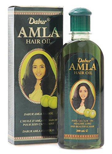 Dabur Amla Hair oil - Natural Care for Beautiful Hair, 200ml (7 oz.)